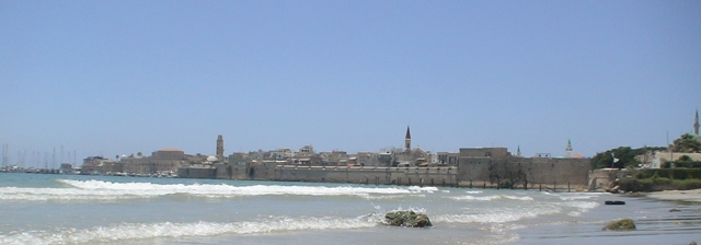 Akko, Israel from the south